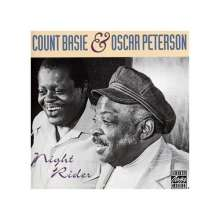 Oscar Peterson & Count Basie: Night Rider, CD