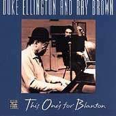 Duke Ellington (1899-1974): This One's For Blanton, CD