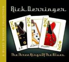 Rick Derringer: Three Kings Of The Blues, CD