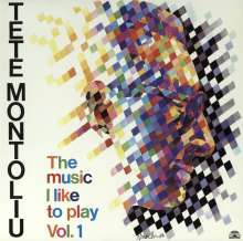 Tete Montoliu (1933-1997): The Music I Like To Play Vol.1, LP