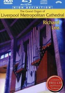 Richard Liszt / Lea: Grand Organ Of Liverpool Metropolitan Cathedral, DVD