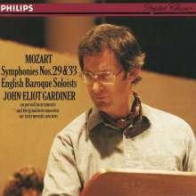 Wolfgang Amadeus Mozart (1756-1791): Symphonien Nr.29 & 33, CD