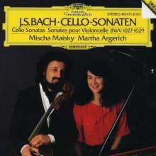 Johann Sebastian Bach (1685-1750): Cellosonaten BWV 1027-1029, CD