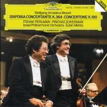 Wolfgang Amadeus Mozart (1756-1791): Sinfonia Concertante KV 364, CD