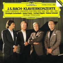 Johann Sebastian Bach (1685-1750): Klavierkonzerte BWV 1060,1061,1063,1065, CD