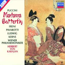Giacomo Puccini (1858-1924): Madama Butterfly, 3 CDs