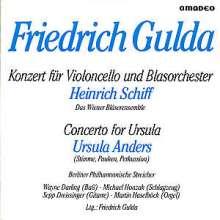Friedrich Gulda (1930-2000): Konzert für Cello & Blasorchester, CD