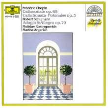 Frederic Chopin (1810-1849): Polonaise brillante für Cello & Klavier op.3, CD