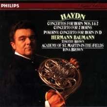 Joseph Haydn (1732-1809): Hornkonzerte Nr.1 & 2, CD