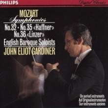 Wolfgang Amadeus Mozart (1756-1791): Symphonien Nr.32,35,36, CD