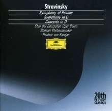 Igor Strawinsky (1882-1971): Concerto in D, CD