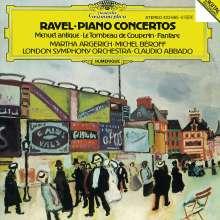 Maurice Ravel (1875-1937): Klavierkonzert für die linke Hand, CD