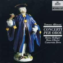 Tomaso Albinoni (1671-1751): Oboenkonzerte op.7 Nr.2,3,5,6,8,9,11,12, CD
