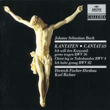 Johann Sebastian Bach (1685-1750): Kantaten BWV 4,56,82, CD