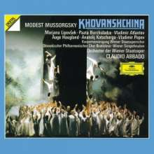 Modest Mussorgsky (1839-1881): Chowanschtschina, 3 CDs