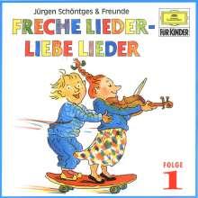 Freche Lieder, liebe Lieder Folge 1, CD