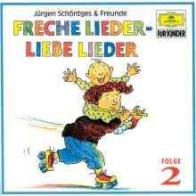 Freche Lieder, liebe Lieder Folge 2, CD