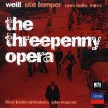 Kurt Weill (1900-1950): Die Dreigroschenoper, CD
