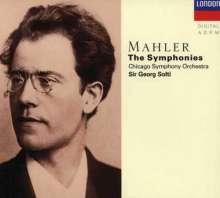 Gustav Mahler (1860-1911): Symphonien Nr.1-9, 10 CDs