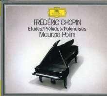 Frederic Chopin (1810-1849): Etüden Nr.1-24, 3 CDs