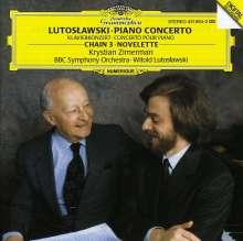 Witold Lutoslawski (1913-1994): Klavierkonzert, CD