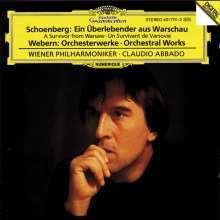 Arnold Schönberg (1874-1951): Ein Überlebender aus Warschau op.46, CD