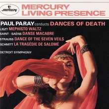Paul Paray dirigiert Tänze des Todes, CD