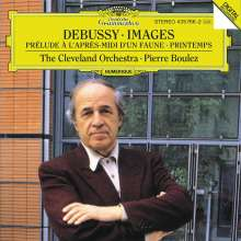 Claude Debussy (1862-1918): Images pour Orchestre Nr.1-3, CD