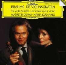 Johannes Brahms (1833-1897): Sonaten für Violine & Klavier Nr.1-3, CD