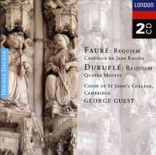 Maurice Durufle (1902-1986): Requiem op.9, 2 CDs