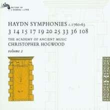 Joseph Haydn (1732-1809): Symphonien Vol.2, 3 CDs