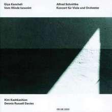 Giya Kancheli (1935-2019): Vom Winde beweint für Viola & Orchester, CD