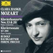 Wolfgang Amadeus Mozart (1756-1791): Klavierkonzerte Nr.13 & 20, CD