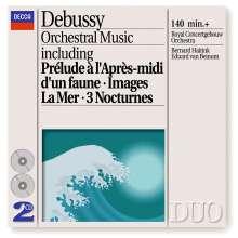 Claude Debussy (1862-1918): Orchesterwerke, 2 CDs