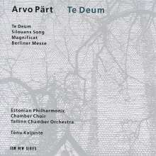 Arvo Pärt (geb. 1935): Te Deum, CD