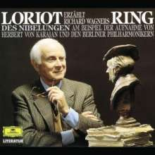 """Loriot erzählt Wagners """"Der Ring des Nibelungen"""", 2 CDs"""