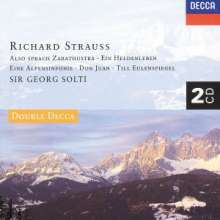 Richard Strauss (1864-1949): Alpensymphonie op.64, 2 CDs