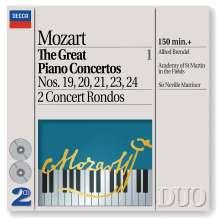 Wolfgang Amadeus Mozart (1756-1791): Klavierkonzerte Nr.19-21,23,24, 2 CDs