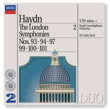Joseph Haydn (1732-1809): Symphonien Nr.93,94,97,99-101, 2 CDs