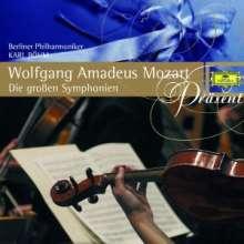 Wolfgang Amadeus Mozart (1756-1791): Symphonien Nr.32-36,38-41, 3 CDs