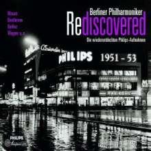 Berliner Philharmoniker Rediscovered - Wiederentdeckte Philips-Aufnahmen, 4 CDs