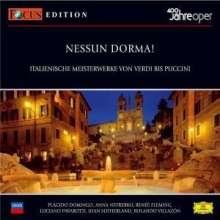 Focus CD-Edition 400 Jahre Oper I:Nessun Dorma, 2 CDs