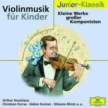 Violinmusik für Kinder - Kleine Werke großer Komponisten, CD