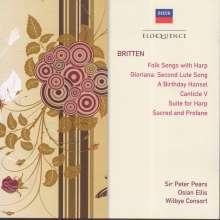 Benjamin Britten (1913-1976): Songs, 2 CDs