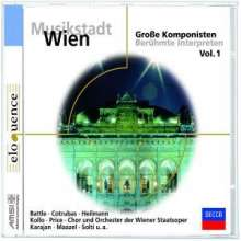 Musikstadt Wien I - Wiener Staatsoper, CD