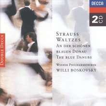 Johann Strauss II (1825-1899): Walzer,Polkas,Ouvertüren, 2 CDs