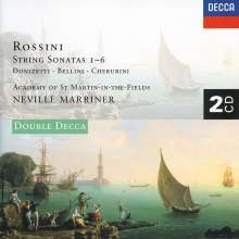 Gioacchino Rossini (1792-1868): Streichersonaten Nr.1-6, 2 CDs