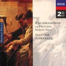 Sergej Rachmaninoff (1873-1943): 24 Preludes (Gesamtaufnahme), 2 CDs