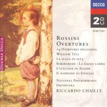 Gioacchino Rossini (1792-1868): Ouvertüren, 2 CDs