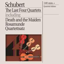 Franz Schubert (1797-1828): Streichquartette Nr.12-15, 2 CDs